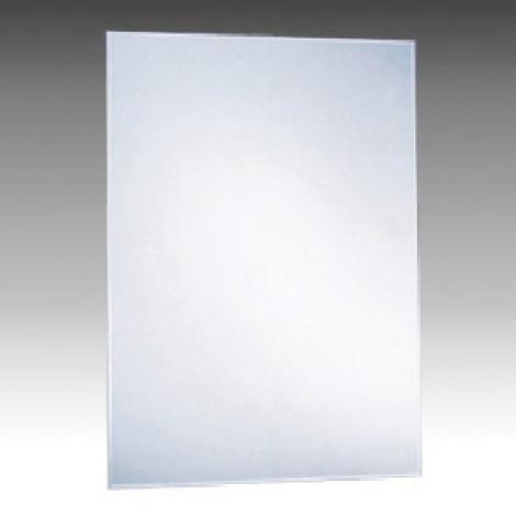 Rectangular bevelled edge mirror 45 x 60h x 3cm vertical for Mirror 45 x 60