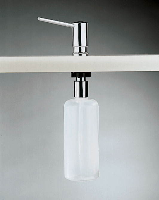 Inda Hotellerie Liquid Soap Dispenser For Countertop 7 X 37h X 13cm